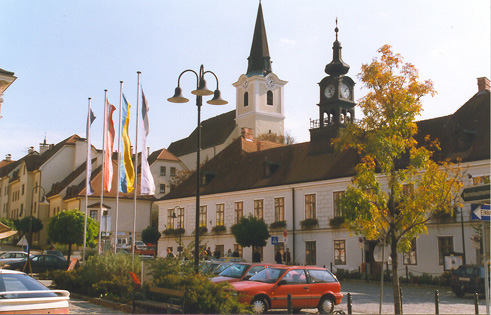 Hollabrunn Hauptplatz